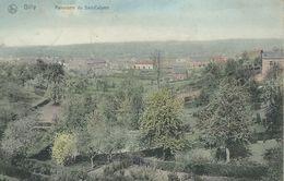 GILLY : Panorama Du SART-CULPA - Nels Série106 N° 27 - RARE VARIANTE COLORISEE - Cachet De La Poste 1908 - Charleroi