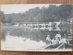 Chateauneuf Du Faou.le Pont Du Roy.péniche Mariniers - Châteauneuf-du-Faou