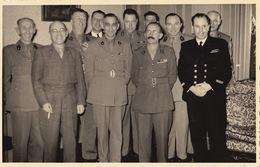 Photo CP Militaire Officier CARON De Gand Sécrétariat Du S.A.T. Armée Belge Nomination En 1947 - Guerre, Militaire