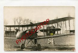 AVION Abattu-CP NON SITUEE-CARTE PHOTO All.-Guerre 14-18-1 WK-AVIATION-FLIEGEREI-AIRCRAFT-Militaria- - 1914-1918: 1a Guerra