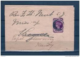 Briefstukje Van Kotehema Naar Kegalla 1896 (GA6628) - Sri Lanka (Ceylan) (1948-...)