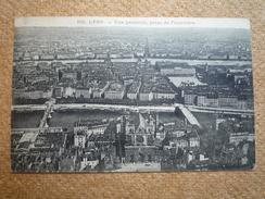 Carte Postale Ancienne Lyon Vue Générale Prise De Fourvières - Autres