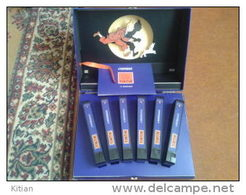 Tintin L'intégrale.6 Cassettes 21 Aventures.Tirage Limité 7000 Exemplaires Pour Le Monde.Ce Coffret Porte Le Numero 4813 - Tintin