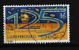LUXEMBURG - Mi-Nr. 1478 - 125 Jahre Weltpostverein (UPU) Gestempelt (1) - Gebruikt