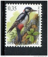 301762728 BELGIE POSTFRIS MINT NEVER HINGED POSTFRISCH EINWANDFREI OCB 3162 BONTE SPECHT VOGEL BIRD - 1985-.. Vogels (Buzin)