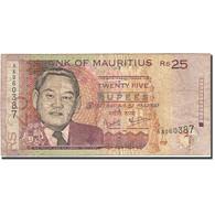 Mauritius, 25 Rupees, 1999, 2003, KM:49b, TB - Mauritius