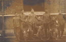 Photo CP Souvenir Militaire De L'officier Caron De Gand - Guerre, Militaire