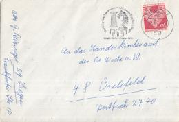 Duitsland - Vlagstempel - Schaken -  Der Welt Gröβtes Schachturnier - XIX Schach-Olympiade In Siegen - Siegen - Schaken