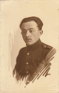 Photo CP Souvenir Claes à Gladbeck Militaire De L'officier Caron - Guerra, Militari