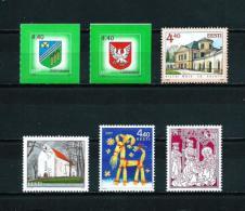 Estonia  Nº Yvert  497/8-499/500  En Nuevo - Estonia