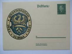 Germany - 1931 Postkarte - Mi P190 - Oberschlesien - Germany