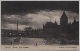 Ouchy - Soir D'Orage Abendstimmung - Photo: E. Steiner - VD Vaud