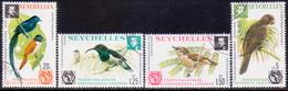 SEYCHELLES 1976 SG #369-72 Compl.set Used Ornithological Congress - Seychelles (1976-...)