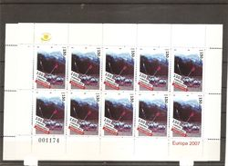 Europa 2007 ( 2834/2835 D'Albanie En Feuilles XXX -MNH) - 2007