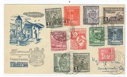 FDC ANDORRE ESPG. 1953 25 ANN. - Storia Postale