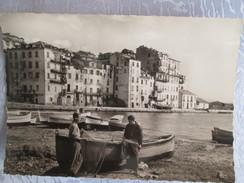 BASTIA . LE VIEUX PORT . PECHEURS ET LEURS FILETS - Bastia