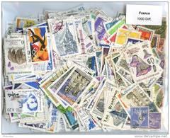 Lot De Timbres De France (1000 Differents) - Briefmarken