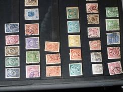Anciens Autrichiens Oblitérés - Collections (en Albums)