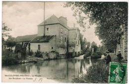 CPA Ste Colombe Provins, Le Moulin Des Bruyères, La Voulzie (pk35977) - Francia