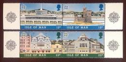 Isle Of Man 1987 Europa Architecture MNH - Isola Di Man