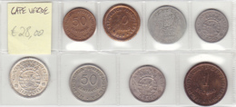 Cape Verde - Set Of 8 Coins - Ref01 - Cape Verde