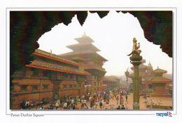 1 AK Nepal * Der Durbar Square In Der Stadt Patan - Seit 1979 UNESCO Weltkulturerbe (vor Dem Erdbeben 2015) - Nepal