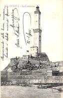 [DC9228] CPA - GENOVA - LA LANTERNA - Viaggiata 1904 - Old Postcard - Genova