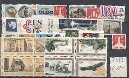 STATI UNITI - USA - 1971 - Annata Completa - Complete Year - ** MNH/VF - Vedi Foto - Annate Complete