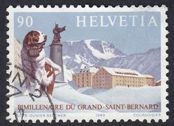 SVIZZERA - 1989 - Yvert  1318 Usato. Bimillenario Del Gran San Bernardo. - Gebruikt