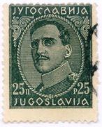 JUGOSLAVIA, YUGOSLAVIA, COMMEMORATIVO, RE ALESSANDRO, KING ALEXANDER, 1932, USATI,  Tellier 210(A),213(A)  Scott 77,79 - 1945-1992 Repubblica Socialista Federale Di Jugoslavia