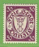 MiNr. 247 X (Falz)  Deutschland Freie Stadt Danzig - Danzig