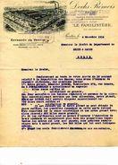 """Les Docks Rémois"""", """"Le Familistère""""n Entrepots De Pantin, PANTIN, 1916 - Facturen"""