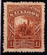 EL SALVADOR - 1892 - MI.Nr.54- Met Plakker- ° - Salvador