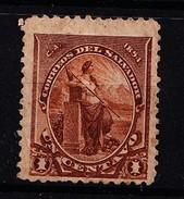 EL SALVADOR - 1894- MI.Nr.76 -met Plakker - * - Salvador