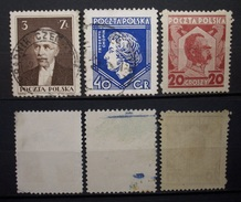 Polen Lot 1927 - 1935 Mi.Nr.311,244,/245** Gestempelt 1x Postfrisch    (R233) - Usati