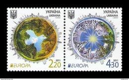 Ukraine 2011 Mih. 1204/05 Europa-Cept. Forests MNH ** - Ukraine