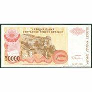 TWN - CROATIA R21a - 50000 50.000 Dinara 1993 VF+ - Croatia