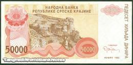 TWN - CROATIA R21a - 50000 50.000 Dinara 1993 AXF - Croatia