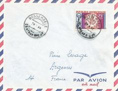 RCA CAR Centrafrique 1966 Bossembele Scouting Fire Cover - Centraal-Afrikaanse Republiek