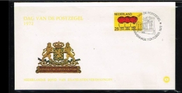 1972 - Netherlands Cover Stamps Day Nr.5 With NVPH 935 - 's-Gravenhage - [B15_076] - Periode 1949-1980 (Juliana)