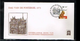 1973 - Netherlands Cover Stamps Day Nr.6 With NVPH 1020 - Heerlen - [B15_081] - Periode 1949-1980 (Juliana)