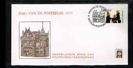 1973 - Netherlands Cover Stamps Day Nr.6 With NVPH 1023 - Heerlen - [B15_084] - Periode 1949-1980 (Juliana)