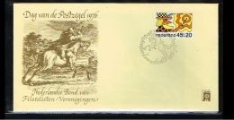 1976 - Netherlands Cover Stamps Day Nr.9 With NVPH 916 - Amsterdam - [B16_025] - Periode 1949-1980 (Juliana)