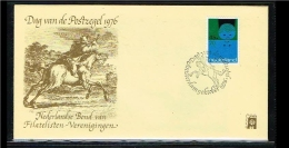 1976 - Netherlands Cover Stamps Day Nr.9 With NVPH 1000 - Amsterdam - [B16_047] - Periode 1949-1980 (Juliana)