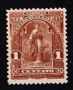 EL SALVADOR - 1899- MI.Nr.186  - Met Plakker - * - Salvador