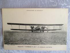 APPAREIL FARMAN F 50 . MOTEUR LORRAINE - Autres