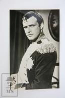 1950's Vintage Real Photo Postcard Cinema Movie Actor:  Marlon Brando - Acteurs