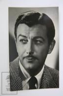 1950's Vintage Real Photo Postcard Cinema Movie Actor: Robert Taylor - Actores