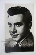 1950's Vintage Real Photo Postcard Cinema Movie Actor: Mario Lanza - Actores