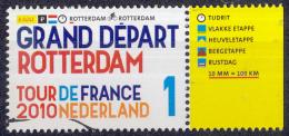 Nederland - Tour De France 2010 - Tijdrit Rotterdam - 3 Juli 2010 - MNH - NVPH 2721 - Period 1980-... (Beatrix)